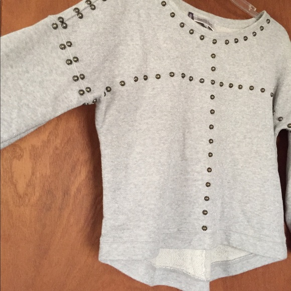 f04ba877951d28 Jennifer Lopez sweater top size M 3 4 sleeve beads